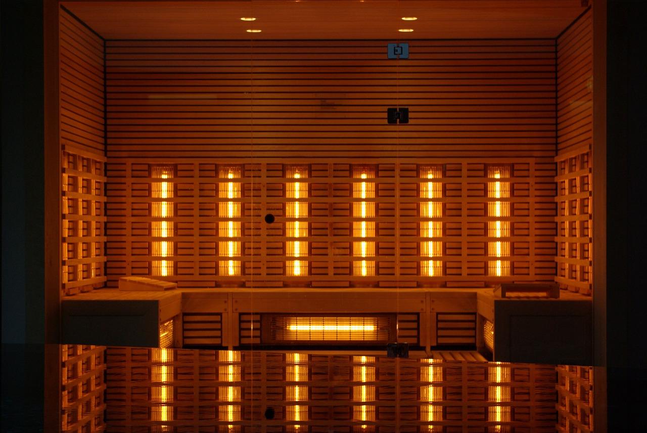 infrarood panelen in de badkamer